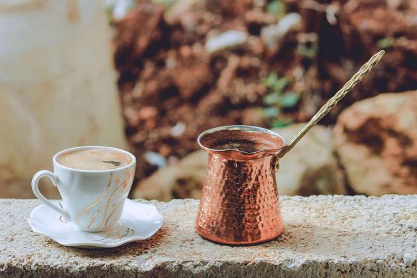 mokka kochen türkischer kaffee