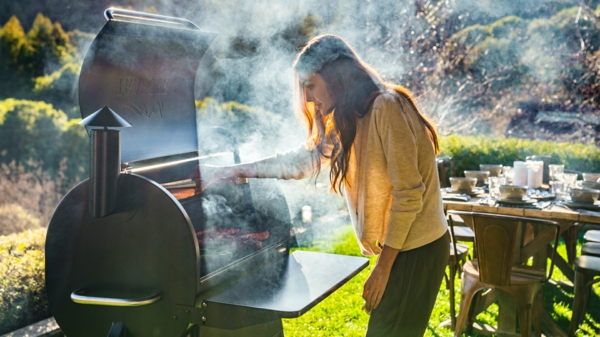 pelletgrills retro grill grillparty