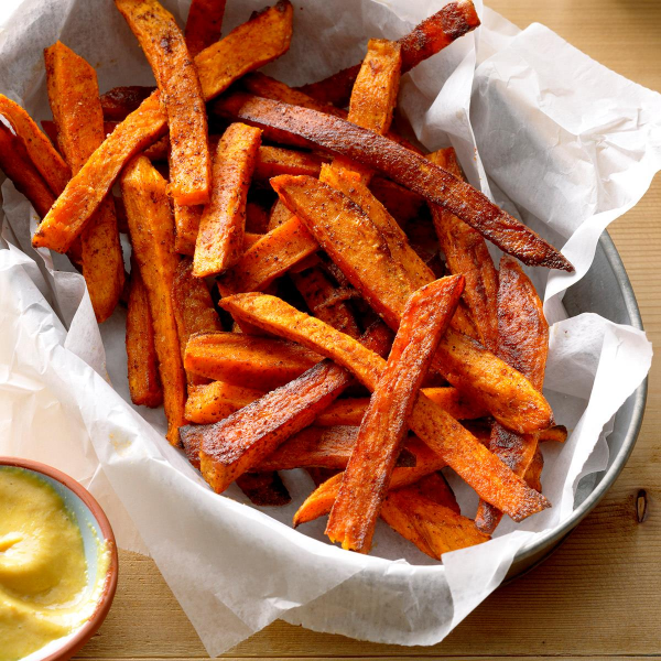 süße kartoffeln pomms frites