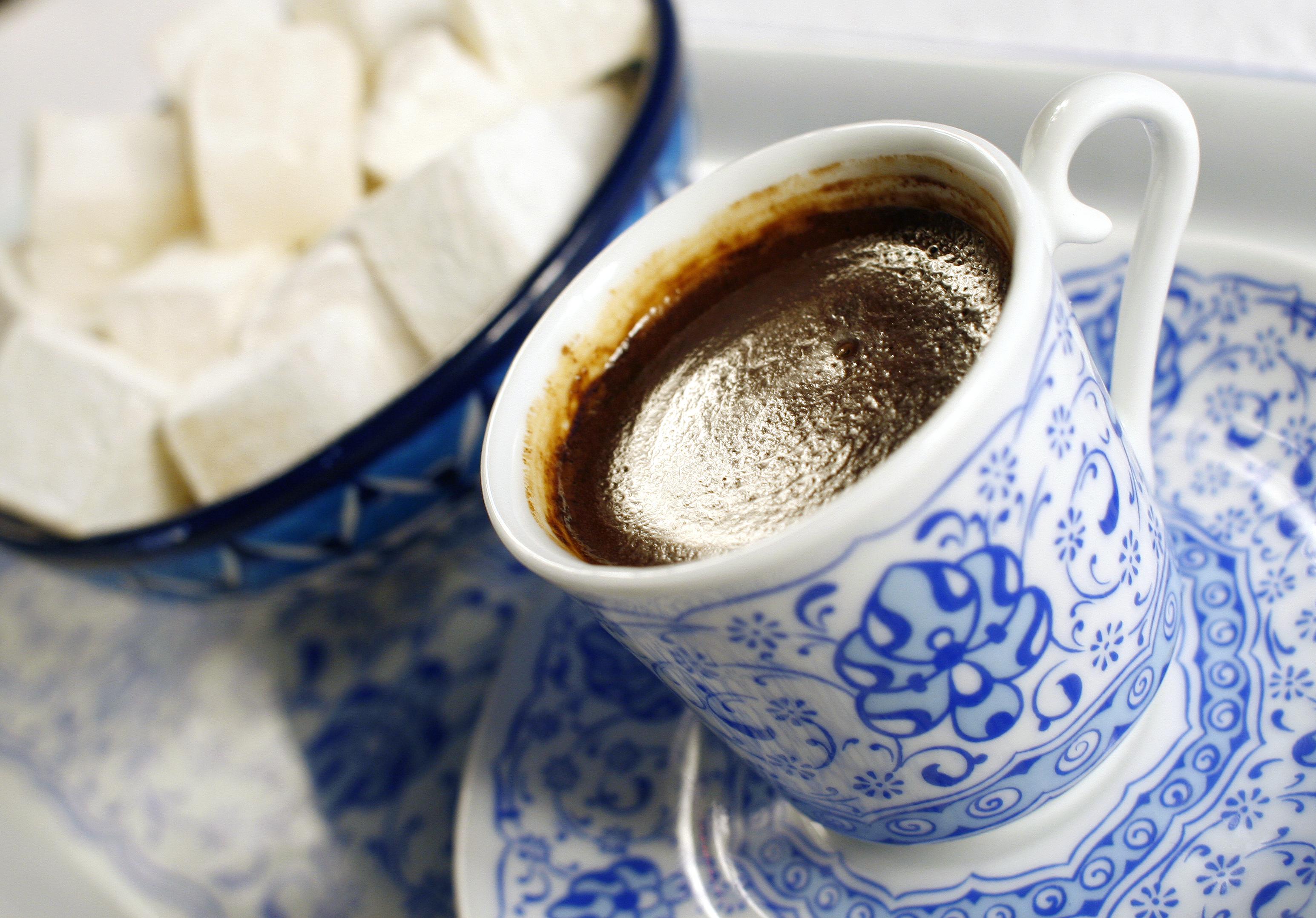 sehr leckerer türkischer kaffee