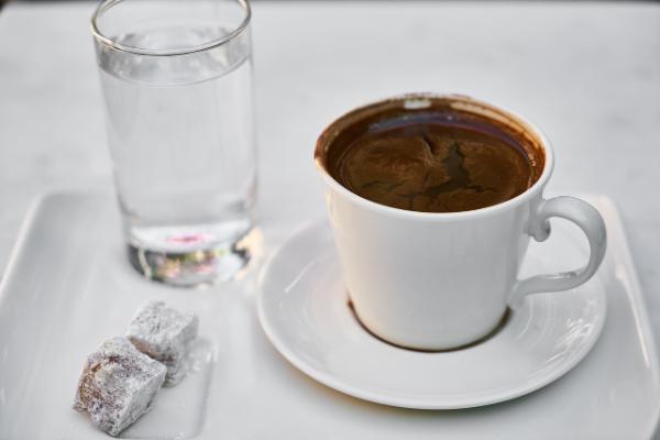 türkischer kaffee leckere kombination