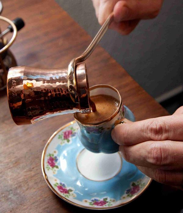 türkischer kaffee schöne tassee
