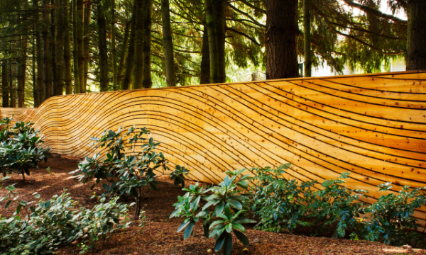 tolles Holz - ein toller Garten im Wald Kreariver Sichtschutz