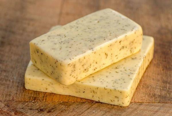 verschiedene Käsesorten Schnittkäse Havarti