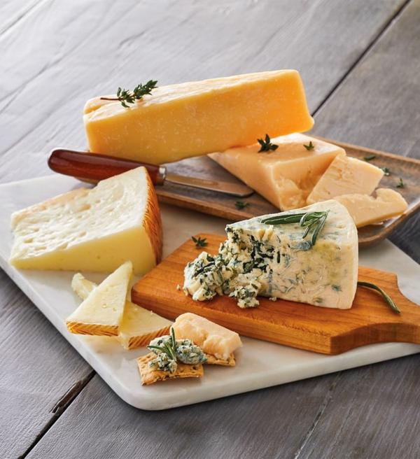 verschiedene Käsesorten Zubereitung Methode