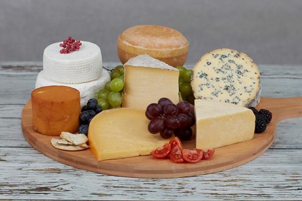 verschiedene Käsesorten unterteilen Kategorien