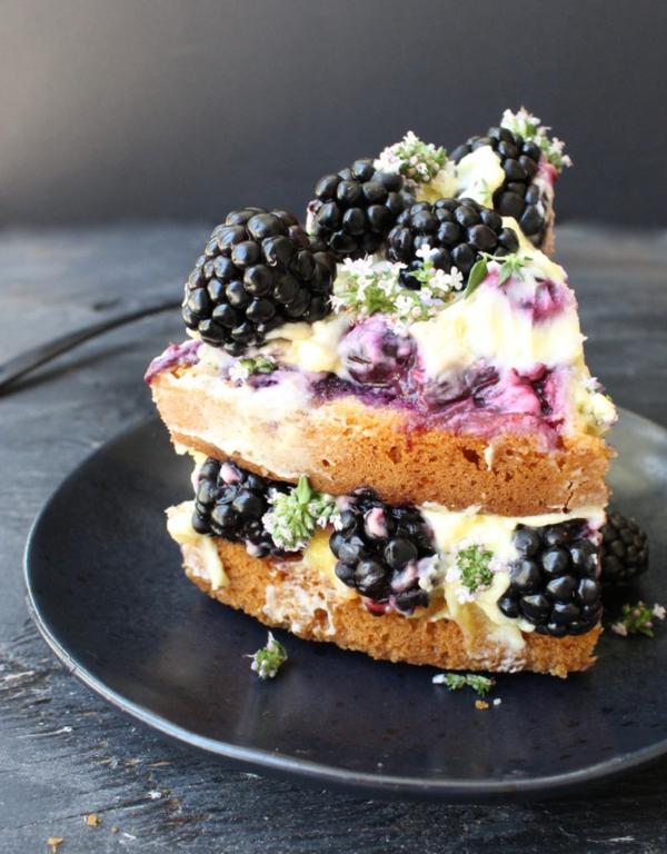 zitronen brombeeren olive oil cake