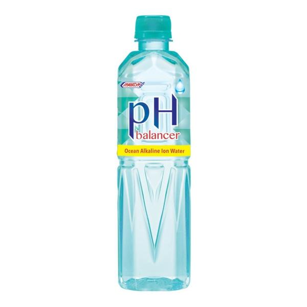 Alkalisches Wasser hoher pH Wert Flasche