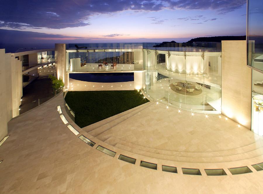 Amphitheater zeitgenössische Architektur moderne Häuser