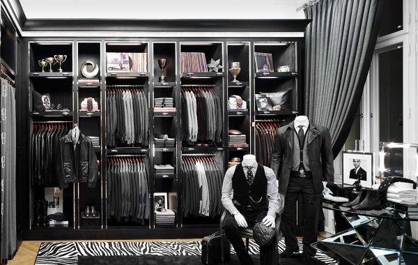 Ankleidezimmer für Männer stilvoll wie im laden garderobe
