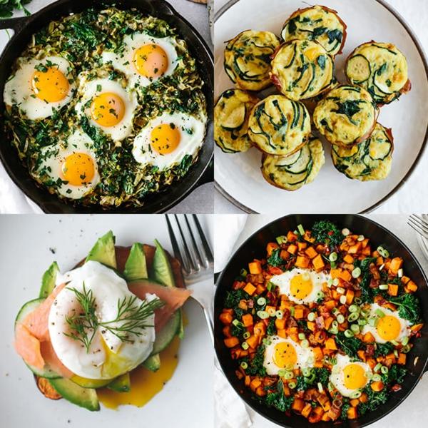 Brunch Ideen gesunde Ernährung Gerichte