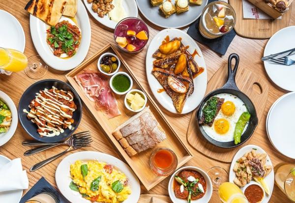 Brunch Ideen gesundes Essen Sonntagsbrunch
