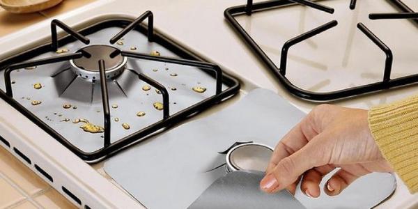 Fett Flecken putzen Kochplatten reinigen