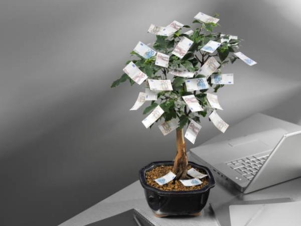 Geldbaum basteln – Kreative Geschenkideen für jeden Anlass geld büro arbeit geschenk
