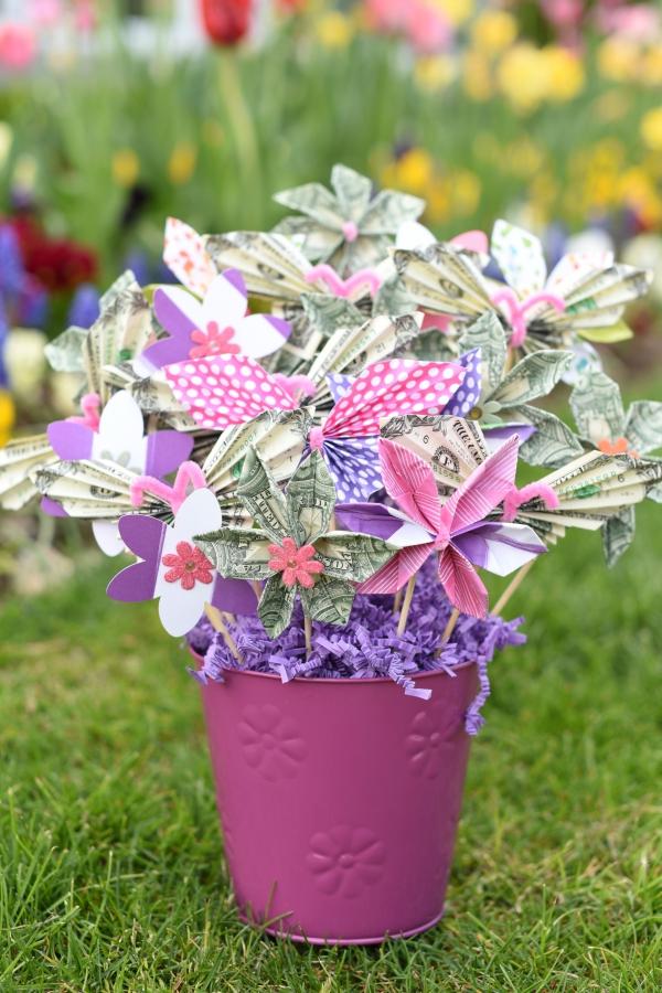 Geldbaum basteln – Kreative Geschenkideen für jeden Anlass geld baum geschenk ideen
