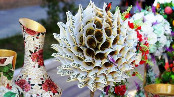 Geldbaum basteln – Kreative Geschenkideen für jeden Anlass handmade geschenk geld scheine