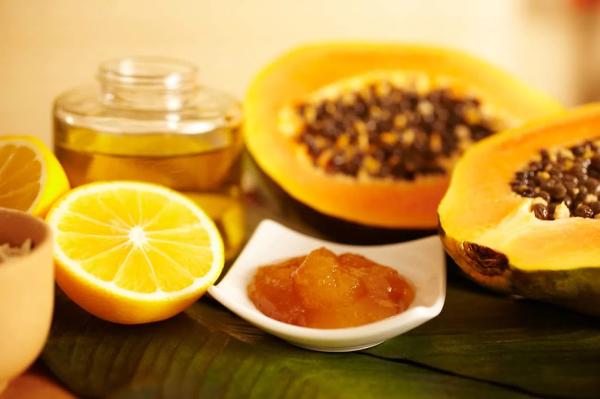 Gesichtsmaske - Honig und Marakuja