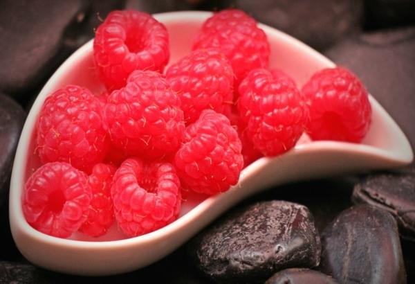 Himbeeren Vorteile für die Gesundheit Himbeercreme für Torte Rezept
