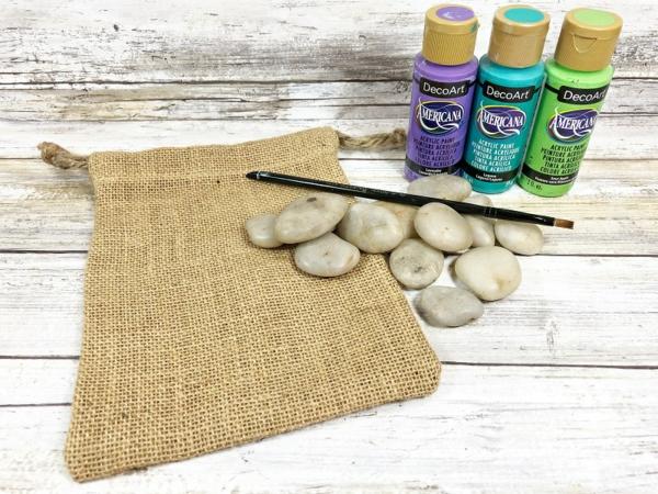 Jutebeutel bemalen Farben und Materielien praktische Tipps