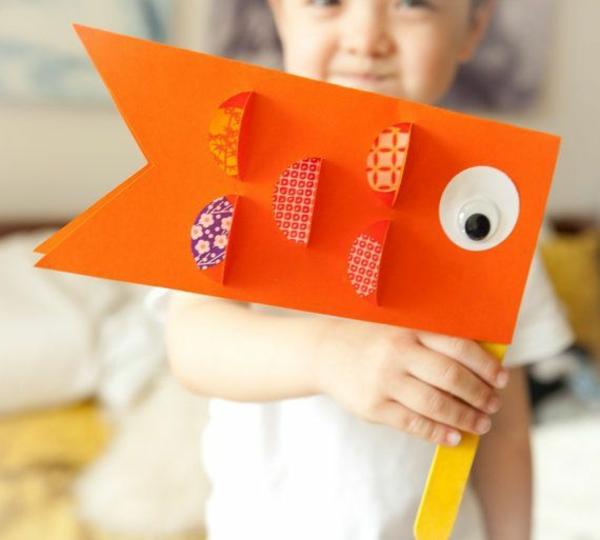 Koinobori Fliegende Fische basteln Basteln mit Kindern