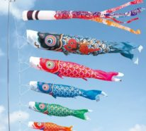 Koinobori: Fliegende Fische basteln und Spaß mit Ihren Kindern haben