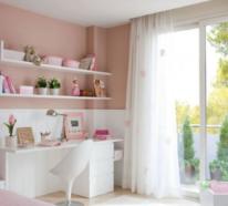 Gemütliches Mädchenzimmer für Ihr Teen Girl einrichten und gestalten