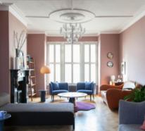 Ein interessantes aktuelles Beispiel für Mid-Century Modern Wohnstil