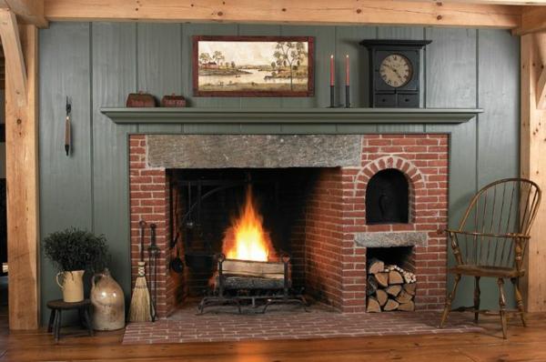 Modern, Rustikal oder gekachelt Der richtige Kamin fürs Wohnzimmer1