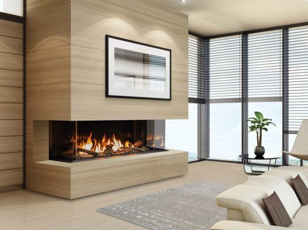 Modern, Rustikal oder gekachelt Der richtige Kamin fürs Wohnzimmer8