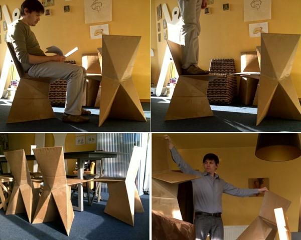 Pappmöbel Möbel aus Pappe kraftwerk