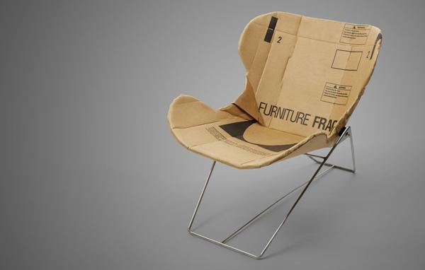 Pappmöbel Möbel aus Pappe re-ply