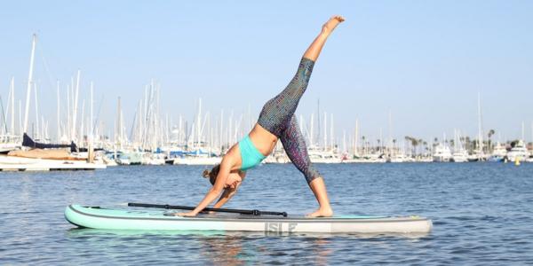SUP Yoga Tipps Dehnübungen Yoga treiben Stehpaddeln