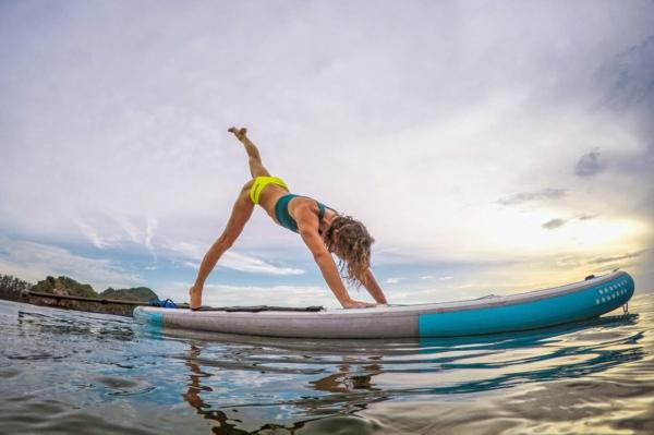 SUP Yoga Tipps Paddleboard Yoga Asanas