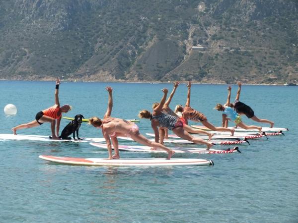 SUP Yoga Tipps Paddleboard Yoga Yogaunterricht