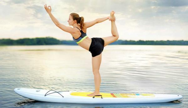 SUP Yoga Tipps Paddlebrett Yoga für Anfänger