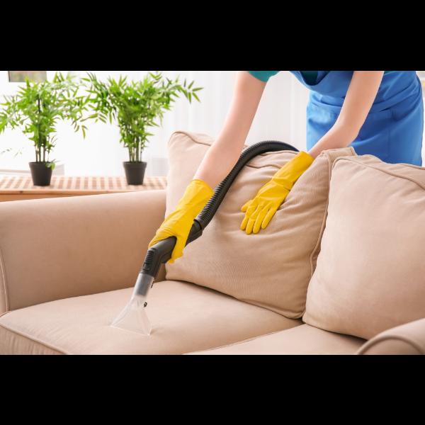 Saubermachen - die Couch Sofa reinigen