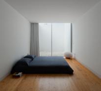 Clevere Ideen, Ihr Schlafzimmer minimalistisch einzurichten