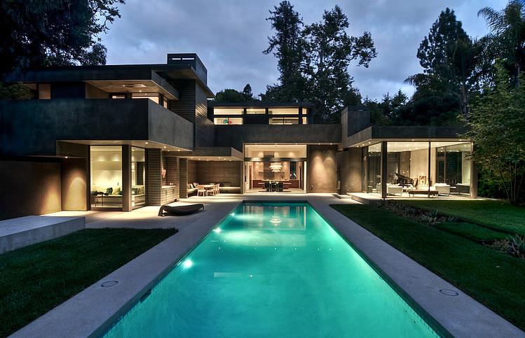Schwimmbad Ideen moderne Häuser