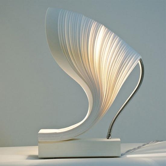 Επιτραπέζιες λάμπες φανταχτερά σχεδιασμένες τέλεια, εξαιρετικά μοντέρνα επιτραπέζια λάμπα