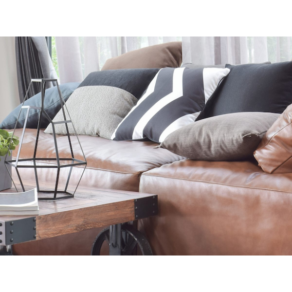 Tolle Ledercouch Sofa reinigen