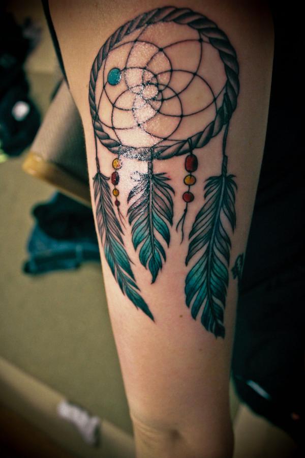 Traumfänger Tattoo Ideen für die Tätowierungen