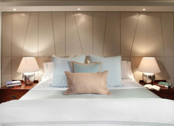 Wandgestaltung Schlafzimmer Lichtquellen Wandlampen