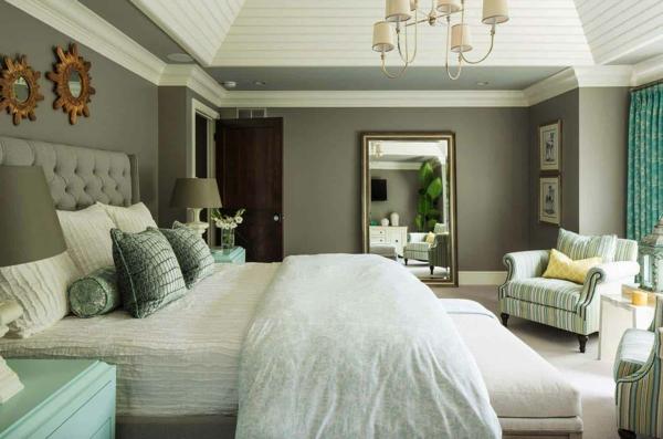 Wandgestaltung Schlafzimmer Wandfarben Trends 2020