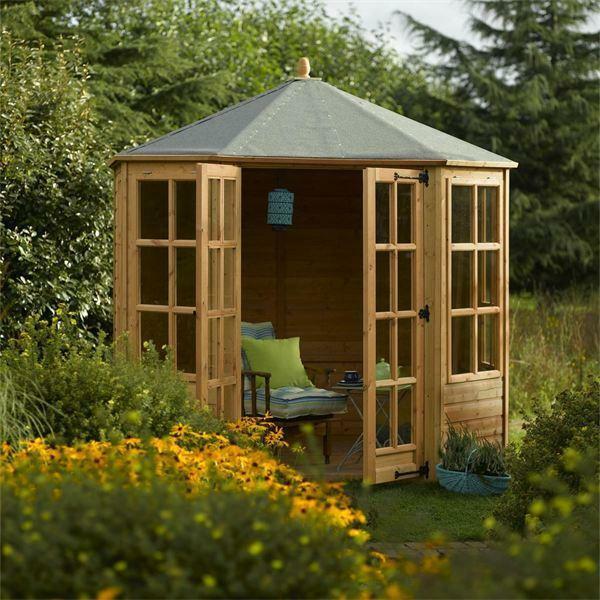 Warum in ein Gartenhaus aus Holz investieren Gartenschuppen