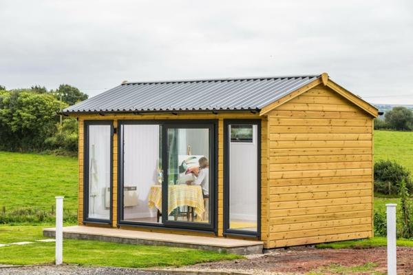 Warum in ein Gartenhaus aus Holz investieren Vorteile Atelier