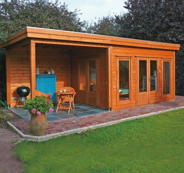Warum in ein Gartenhaus aus Holz investieren Vorteile