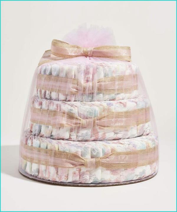 Windelgeschenke Windeltorte Babytorte aus Windeln
