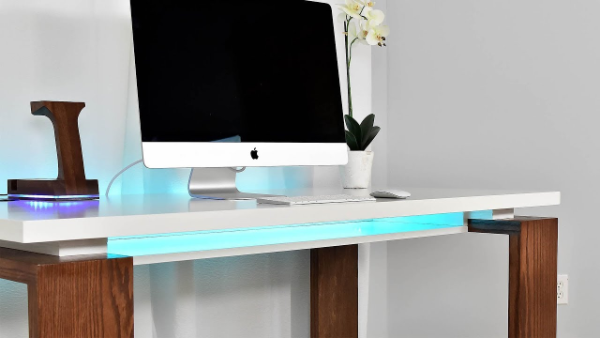 arbeitstisch ideen modernen tisch selber bauen