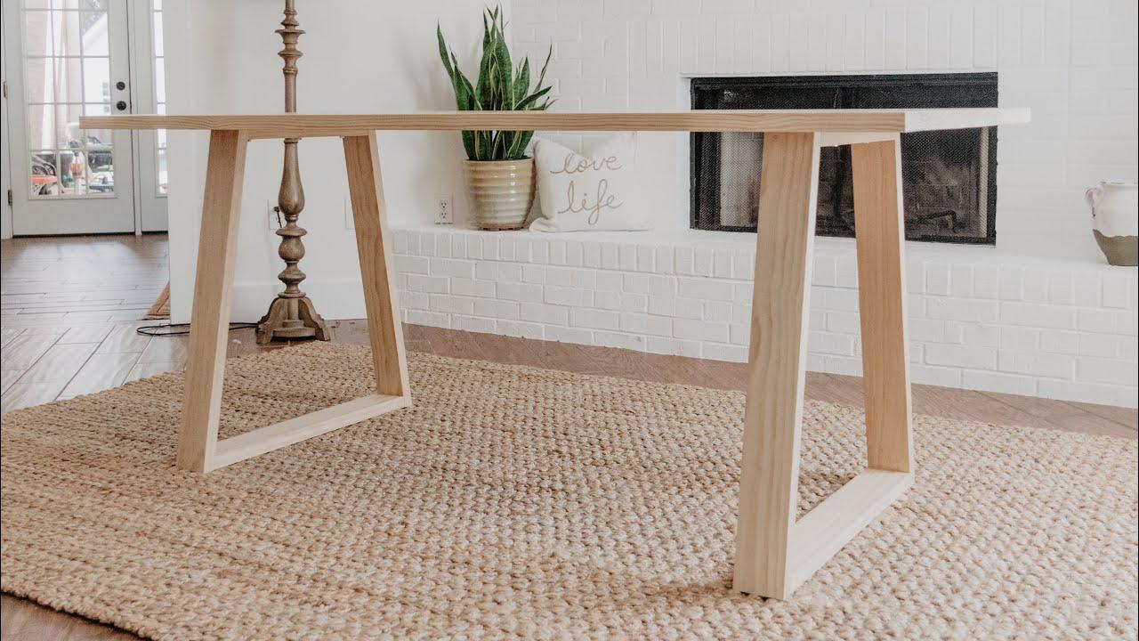 Einen modernen Tisch selber bauen? Mission possible!