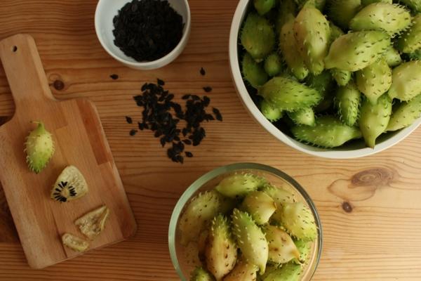 eingelegte inkagurke selber zubereiten rezept